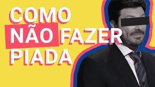 Danilo Gentili e a covardia do humor fácil #GordofobiaNãoÉPiada