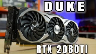 MSI RTX 2080 Ti DUKE OC - test i recenzja karty graficznej - VBT