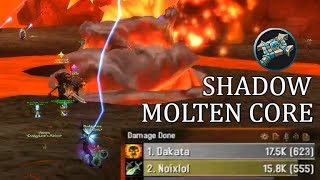 I Raided as Shadow! | Molten Core Priest Classic WoW Gameplay