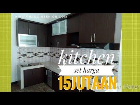 Kitchen setminimalis Harga 15 jtan