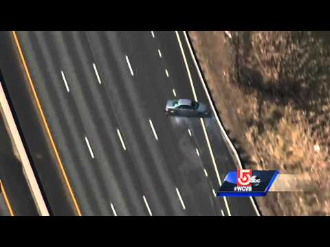 High-speed chase suspect spins out on Rt 128