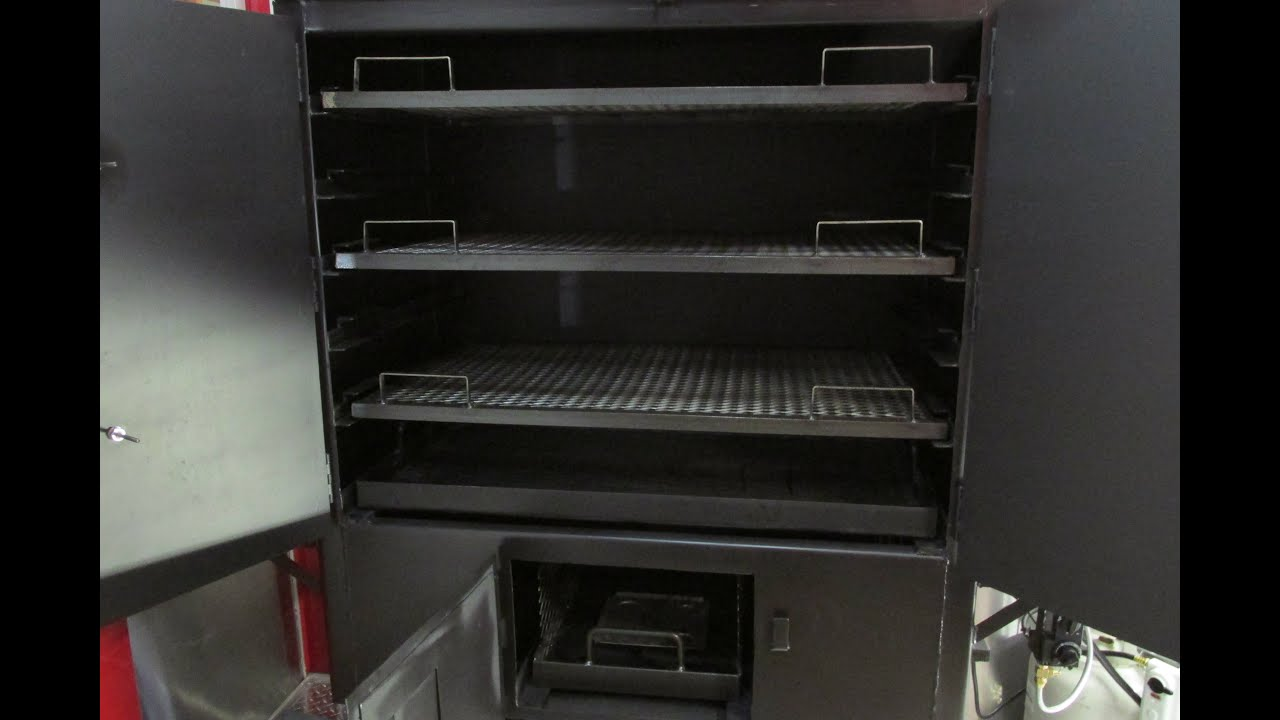 Model - FB42 / Cabinet Smoker Gas & Electric Assisted - YouTube