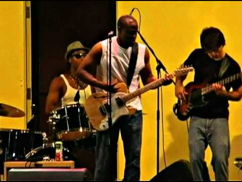 """Jay Blue's Band performing """"Bartender"""" at the Holl..."""