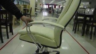 видео Кресла из натуральной кожи
