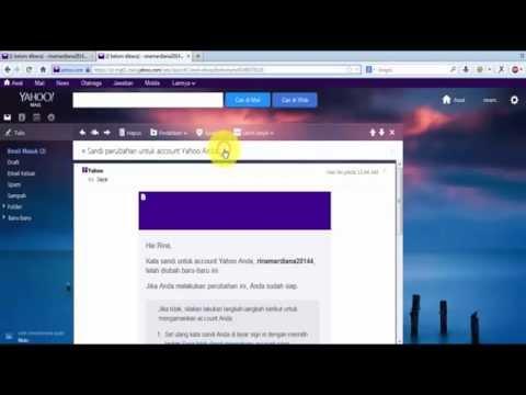 Cara Merubah Password / Kata Sandi Akun Yahoo Mail Terbaru