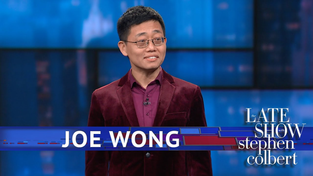Joe Wong Stand-Up on 'The Late Show'
