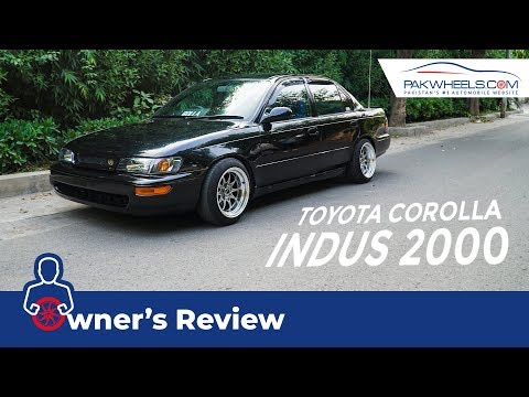 Toyota Indus Corolla 2000 Owner's Review: Specs & Features   PakWheels