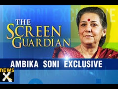 The Screen Guardian: Ambika Soni exclusive - 2 of 2 - NewsX