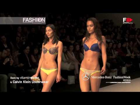 """Calvin Klein Underwear"" Spring Summer 2013 Mexico Fashion Week Woman by Fashion Channel"
