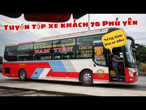 [95] Tuyển tập xe khách 78 Phú Yên đón khách. Anh phụ xe Thành Tâm nhìn em không chớp mắt :D