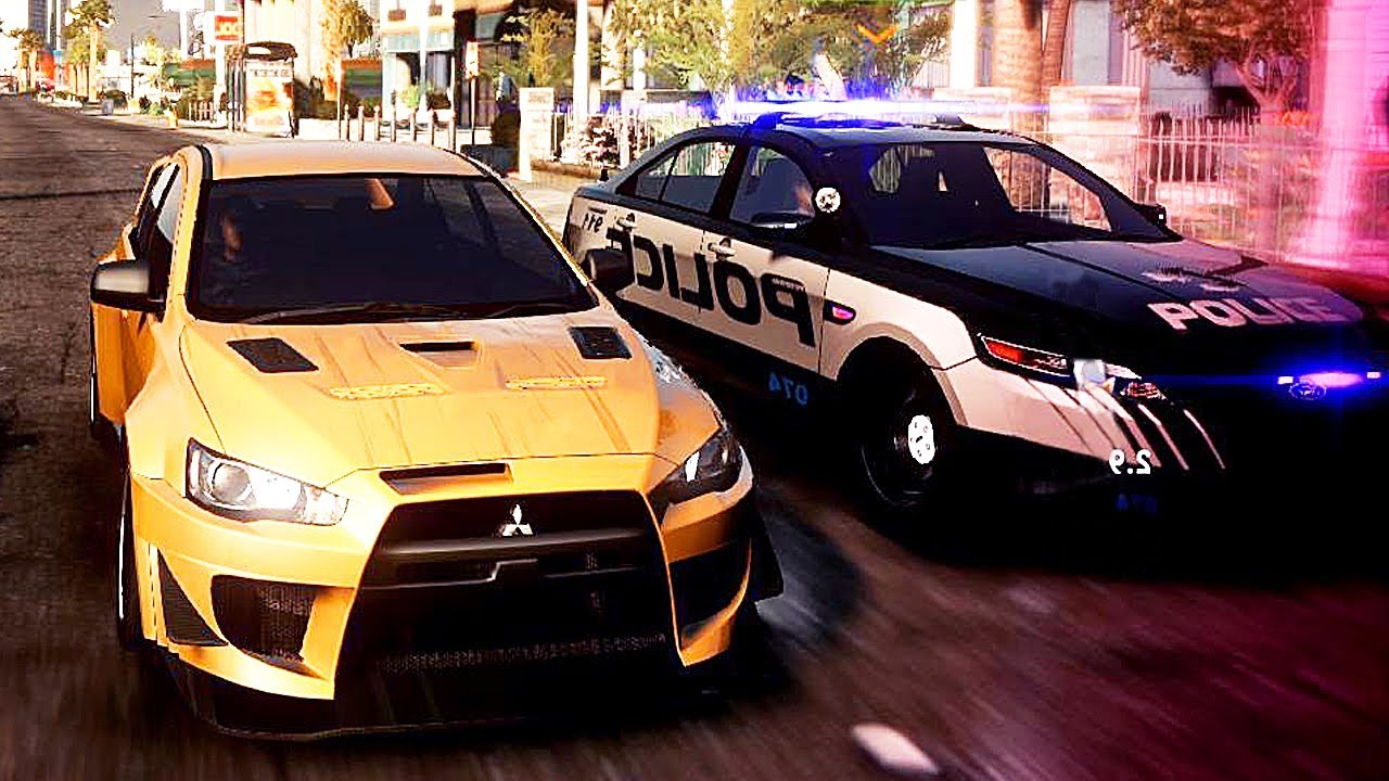 Need For Speed The Run Customizing Race W Pagani Huayra Mitsubishi Lancer Evolution X