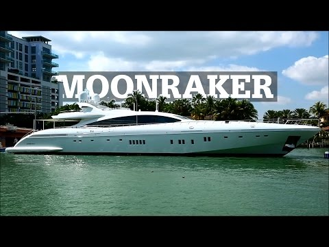 MOONRAKER | Mangusta 165 E SuperSport Yacht in Miami