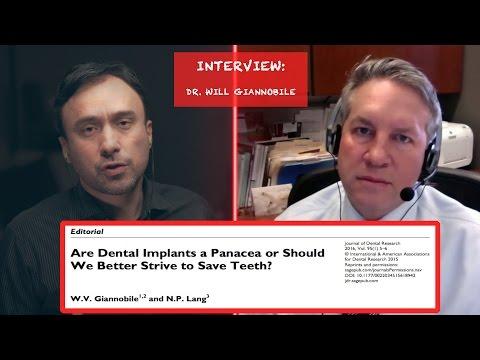 Dr  William Gianobile Interview On Periimplantitis
