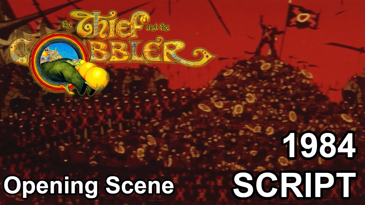 Download The Thief And The Cobbler 1984 Script - Opening Scene