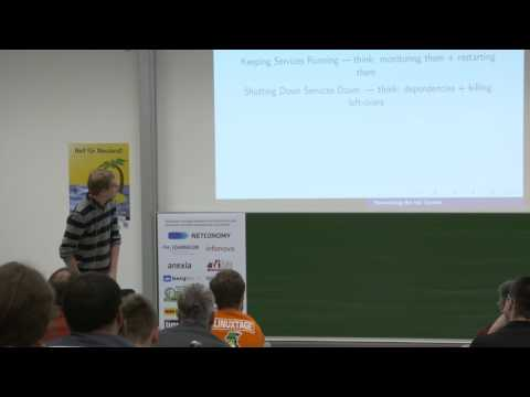 Reinventing the Init System – Lennart Poettering – Grazer Linuxtage 2017