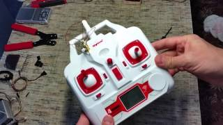 Syma X8C antenna's mod 1300+ meters (4300+ ft) (Eng sub)