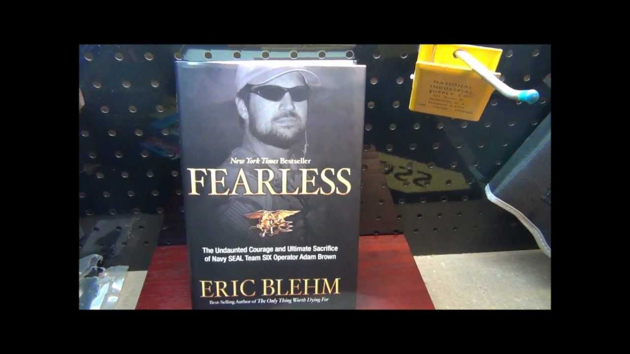Fearless book review navy seal adam brown youtube