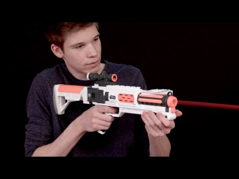 Nerf Star Wars Episode  First Order Stormtrooper Deluxe Blaster By Nerf Socom Reviews