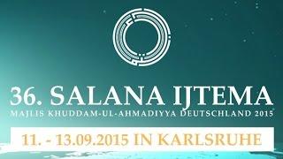 36. National Ijtema Deutschland 2015 - Promo - MKAD - Khuddam ul Ahmadiyya