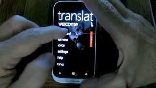 Windows Phone 8: Translator