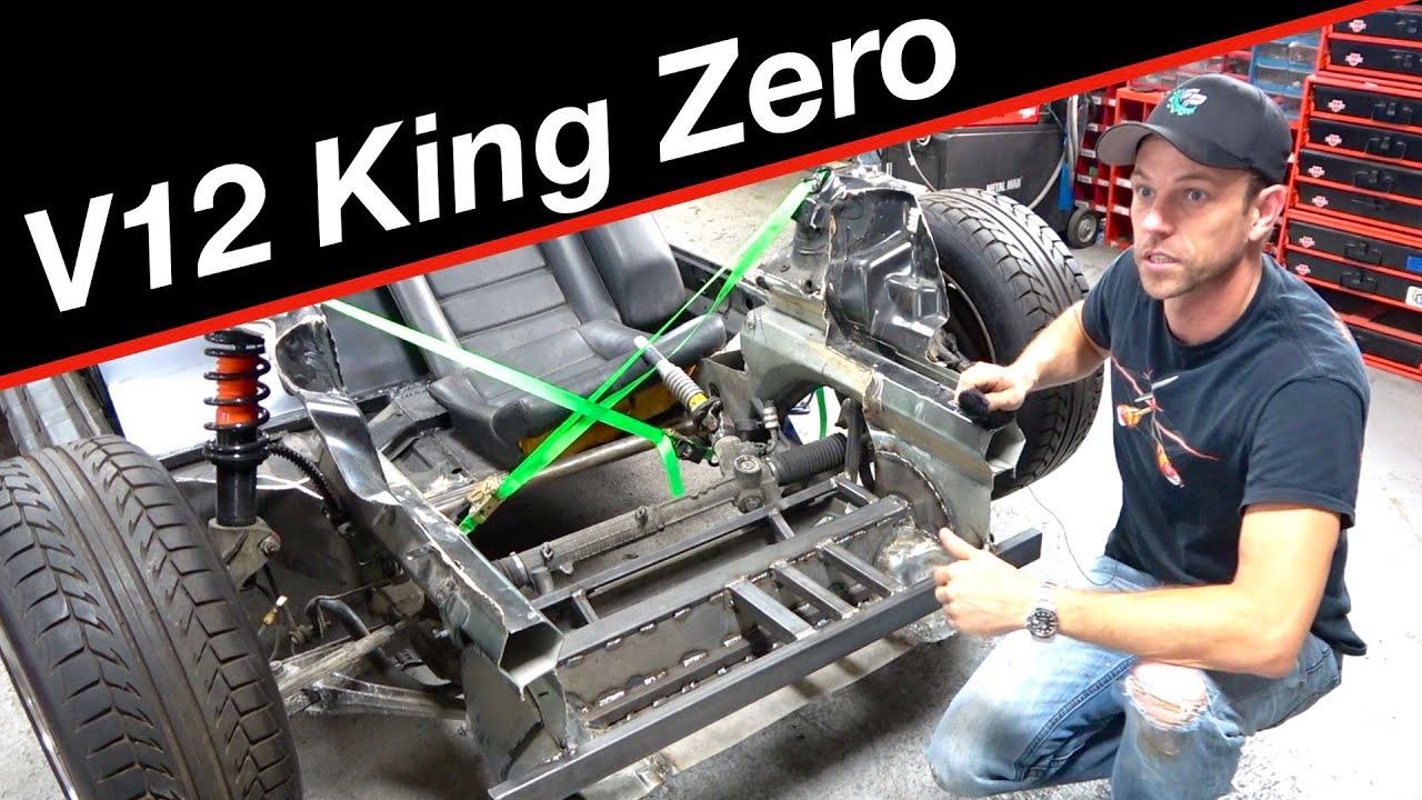Cheap Supercar builder | King Zero V12 supercar #12