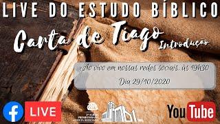 ???? Live Estudo Bíblico 29/10/2020