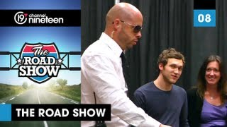 "Ed Bassmaster pranks the Idols on Tour - Christina Grimmie Presents ""The Road Show"" - Live Tour 2012"