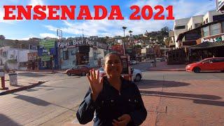 Ensenada 2021| Walking Downtown Ensenada 2021