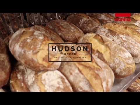 Koenig @ Hudson Bread - Delicious Bread And Buns Production With Koenig Equipment