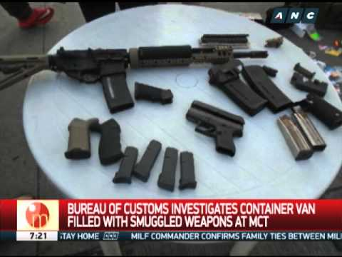 BOC probes van filled with smuggled weapons in Mindanao