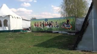 Площадка для пикника -баннер по периметру забора(, 2014-04-30T20:51:51.000Z)