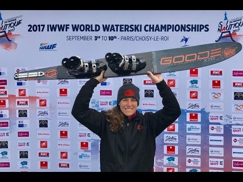 2017 Worlds Water Ski Championships - Women's Champion Regina Jaquess
