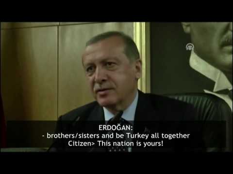 A conversaiton  with a Kurdish citizen after Erdogan landed Ataturk airport  during the coup attempt