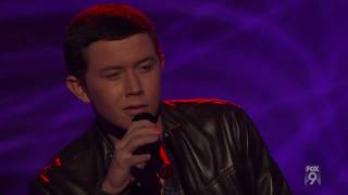 "true HD Scotty McCreery ""Letters from Home"" - Top 24 (12 boys) American Idol 2011 (Mar 1)"