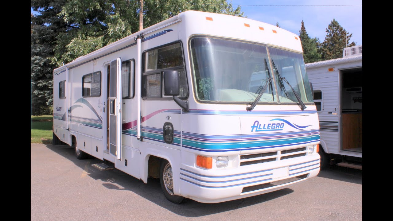 1997 allegro 31ia by tiffin motorhomes  u2013 stock  16952