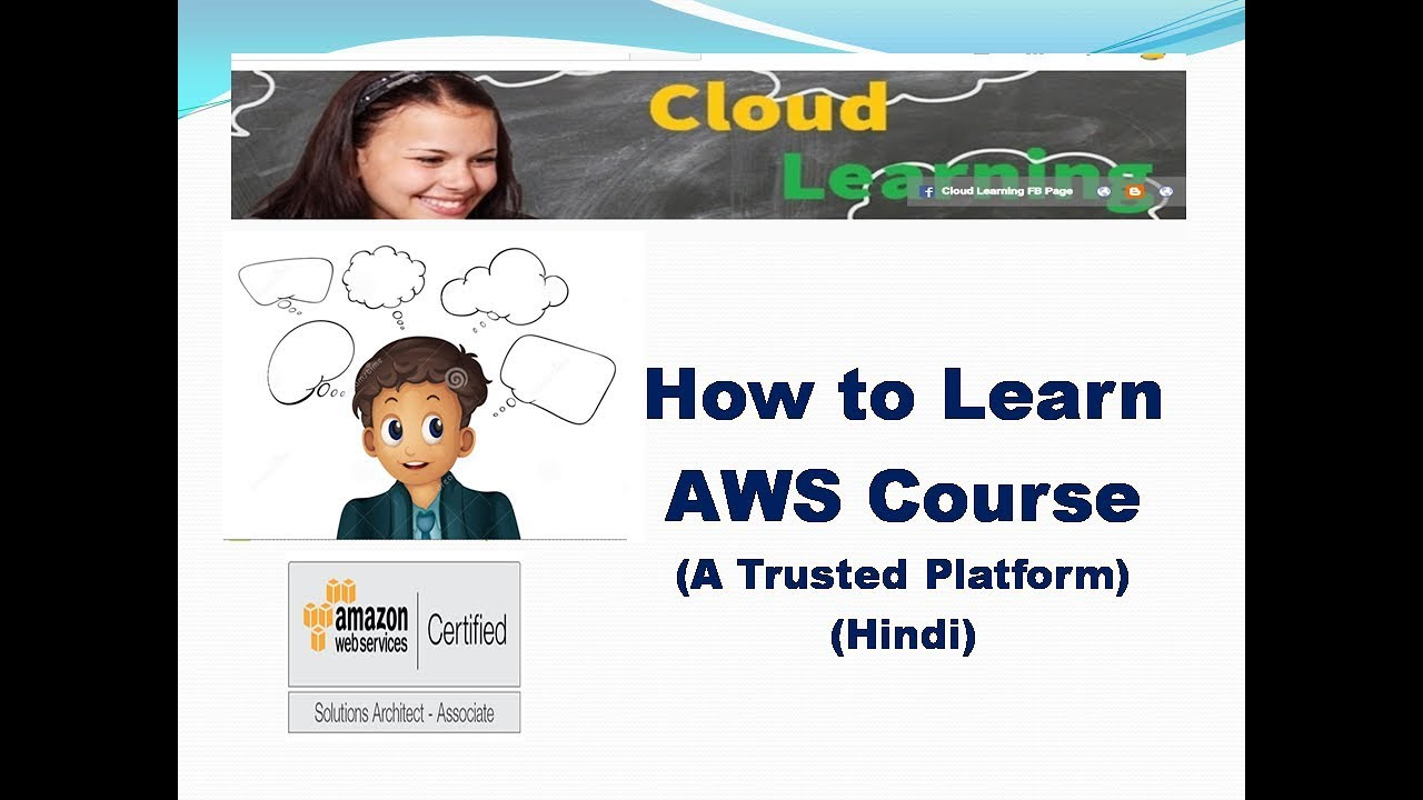 How to learn AWS Course Sol Architect Associate 2019
