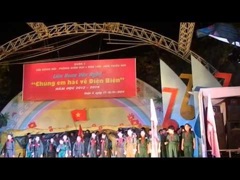 Chúng Em hát về Điện Biên - trường tiểu học Lê Văn Tám Q.5