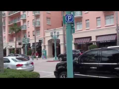 Boca Raton downtown East & West  Plaza Real