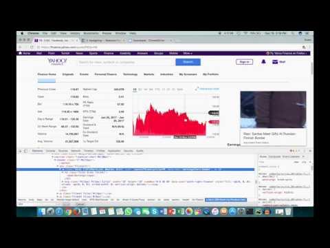 Python Selenium Tutorial - Web Scraping with Selenium