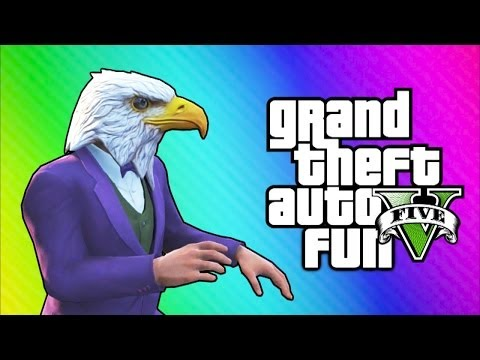 Thumbnail: GTA 5 Online Funny Moments - Air Walk Glitch, Faggio Cop Glitch, Beer Hat Crate!