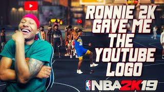Ronnie 2K gave Duke Dennis his YOUTUBE LOGO! Stretch Big Demigod RETURNS! Best Build NBA 2K19! thumbnail