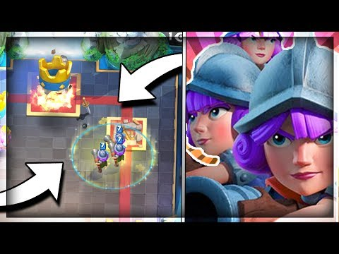 DEADLY THREE MUSKETEER DECK!! 3 Musketeer Heal - Grand Challenge Deck & Gameplay - Clash Royale