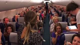 Пассажиры устроили флэшмоб для группы «Би-2»