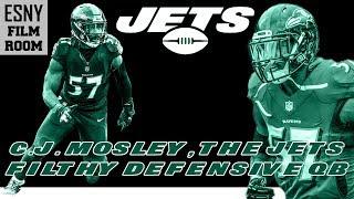 ESNY FILM ROOM: C.J. Mosley, The Filthy New York Jets Defensive Quarterback