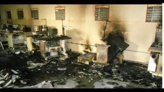 Imagens mostram destruição em rebelião de penitenciaria no Paraná