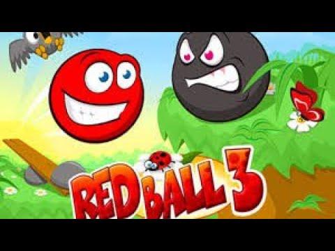 Мультики для детей Красный шар и новые приключения - Подземелье и вода! Мультфильм игра 2021 года.
