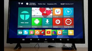 A95X R2 Smart TV Box Test performance ANTUTT Benchmark Android 7.1 Smart BOX TV 2GB RAM 16GB ROM