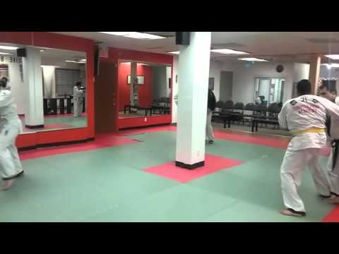 Hapkido class at Toronto martial Arts School