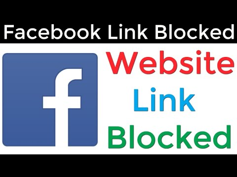 You Can't Share This Link On Facebook Problem Solved | How To Share Blocked URL On Facebook 2020 |