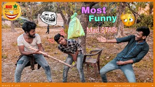 Very Funny Stupid Boys_Top Comedy Video 2021_Try Not To Laugh   #MadSTAR #madstarfun #funnyvideo